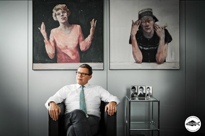 Business Portrait von Fasching, Raum für Fotografie, Bregenz, Vorarlberg