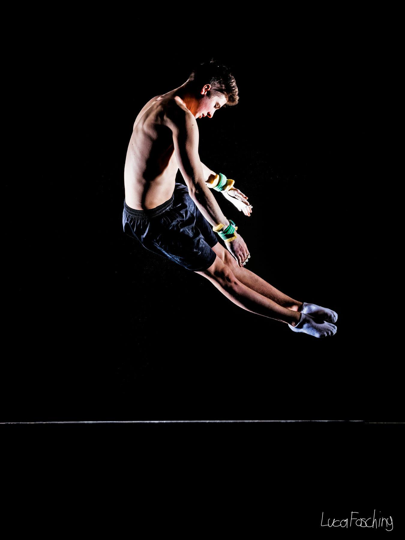 Leichtathletikaufnahmen fotografiert von Sportfotograf Luca Fasching
