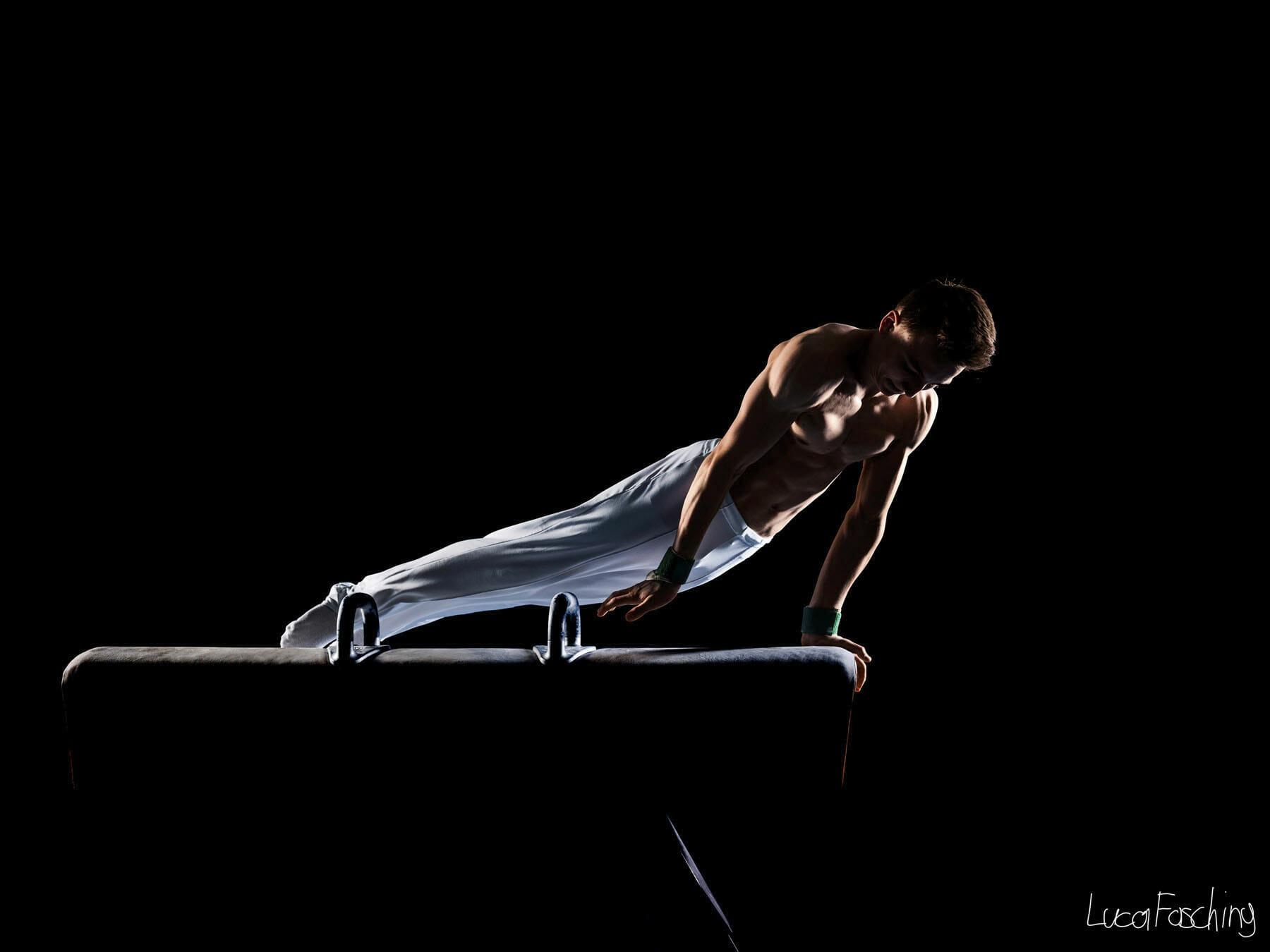 Luca Fasching fotografierte dieses Bilder des Leichtathleten