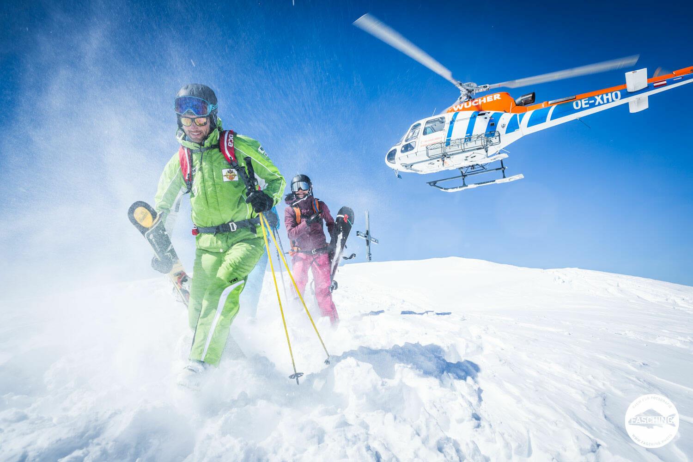 Wintershooting für Freicom fotografiert von Luca Fasching