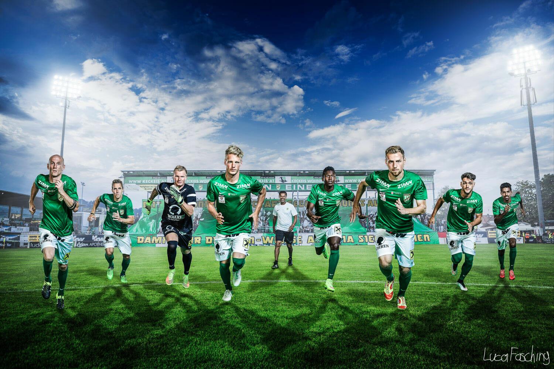 Mannschaftsbild von Sportfotograf Luca Fasching
