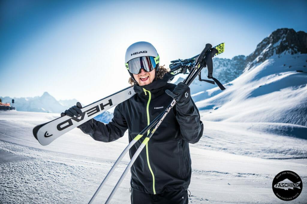 Fashionfotografie im Tourismusgebiet Arlberg Fotograf Luca Fasching aus Vorarlberg