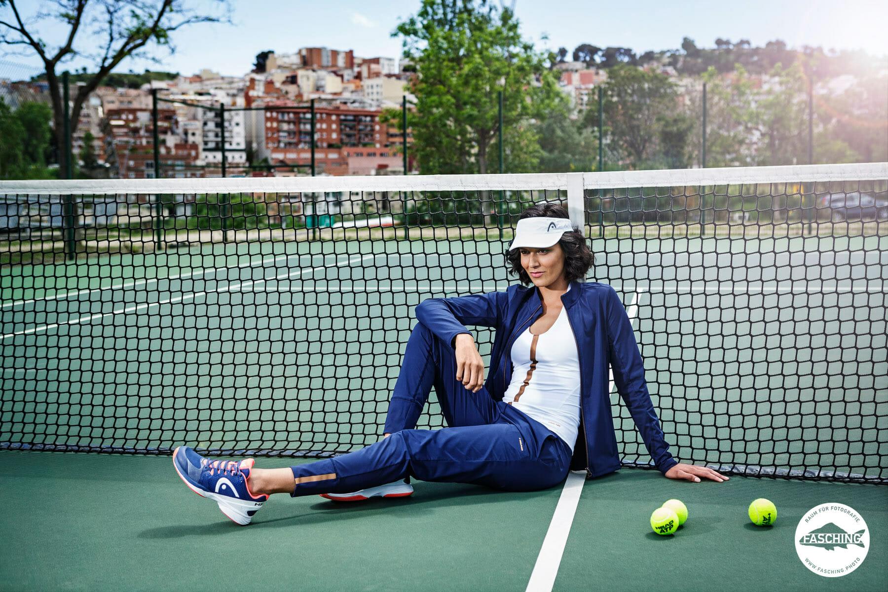 Die Head Sportswear wurde von Modefotografen Reinhard und Luca Fasching fotografiert