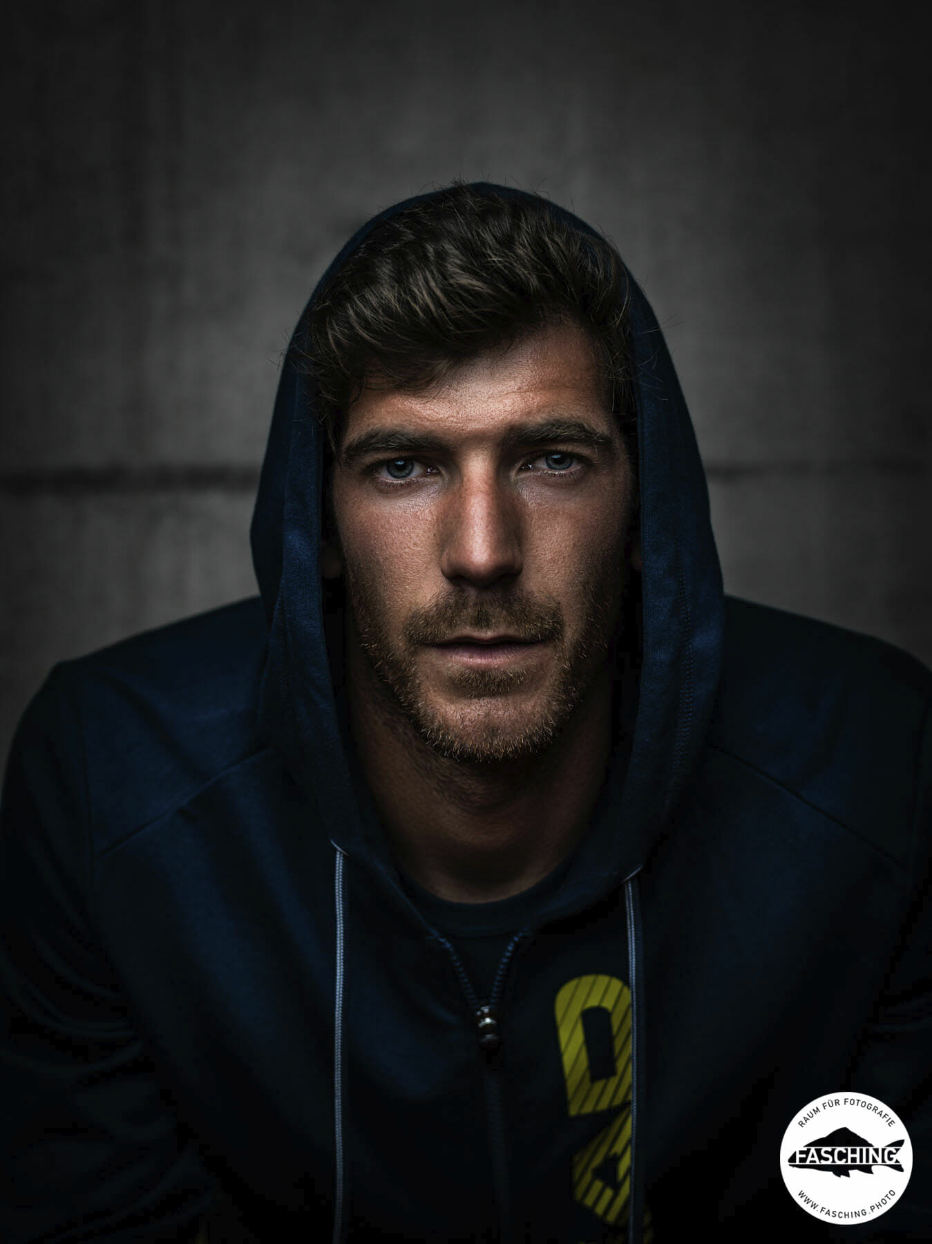 Gerald Melzer, Tennisprofessional fotografiert von Luca Fasching Portrait