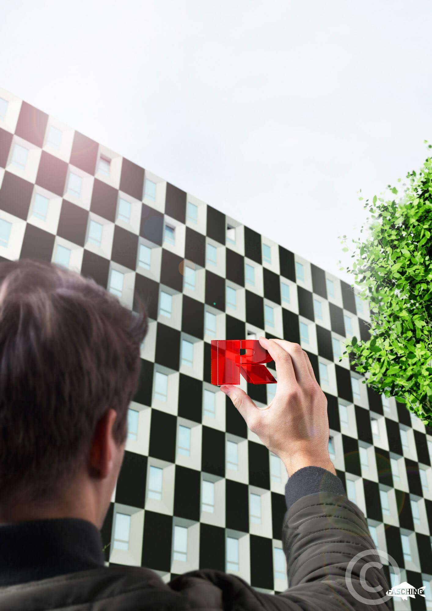Werbefotografie für Rhomberg Bau vom Studio Fasching in Bregenz