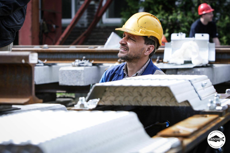 Unternehmensfotograf Reinhard Fasching fotografierte für den Voestalpine Geschäftsbericht