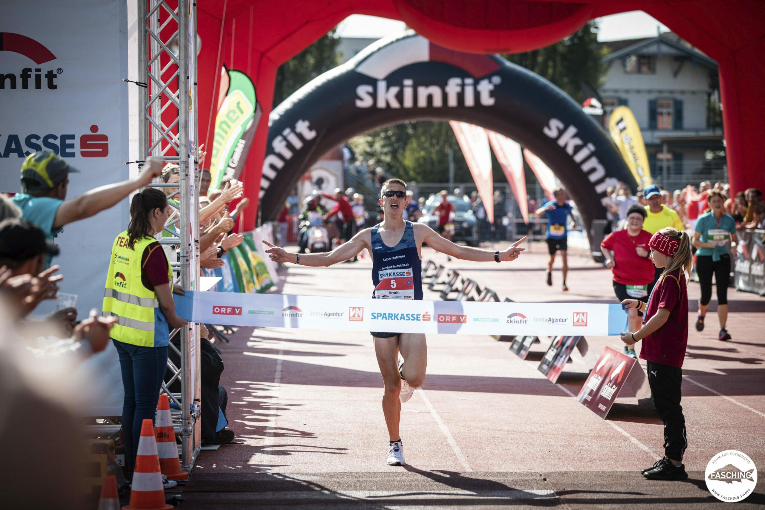 Sportfotogafie in Österreich, Schweiz und Deutschland Luca Fasching fotografierte den 3 Länder Marathon