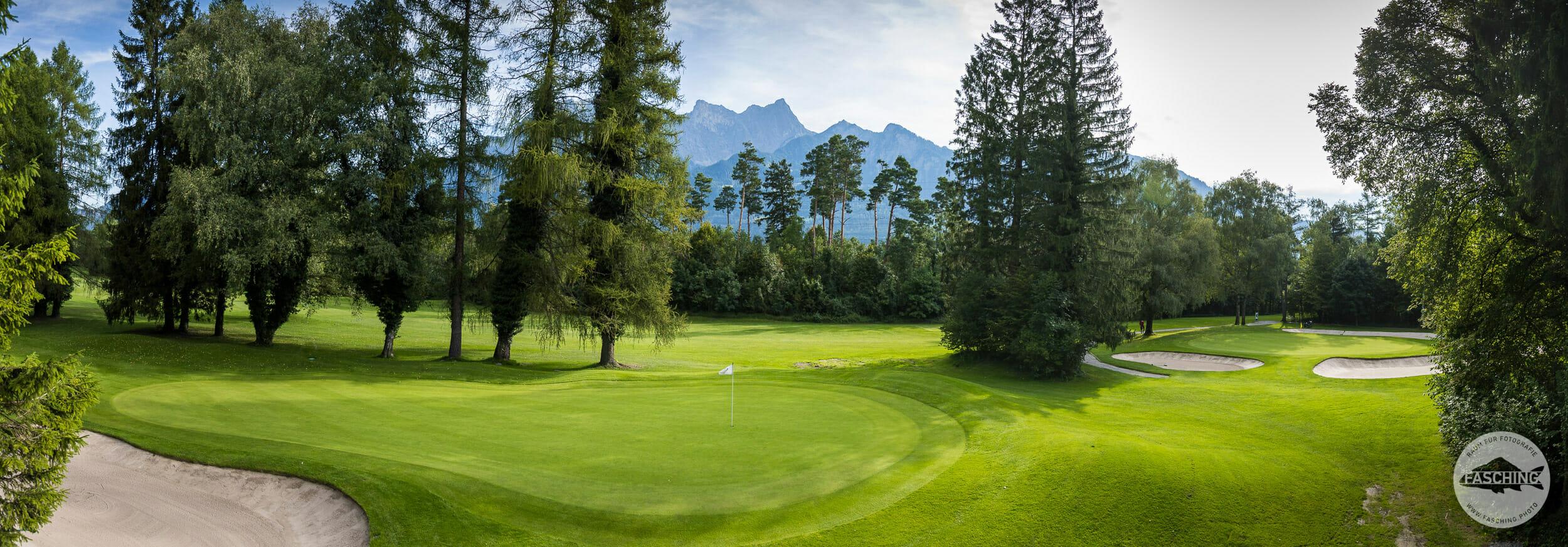 Golfclub Bad Ragaz, Fotografie Reinhard Fasching