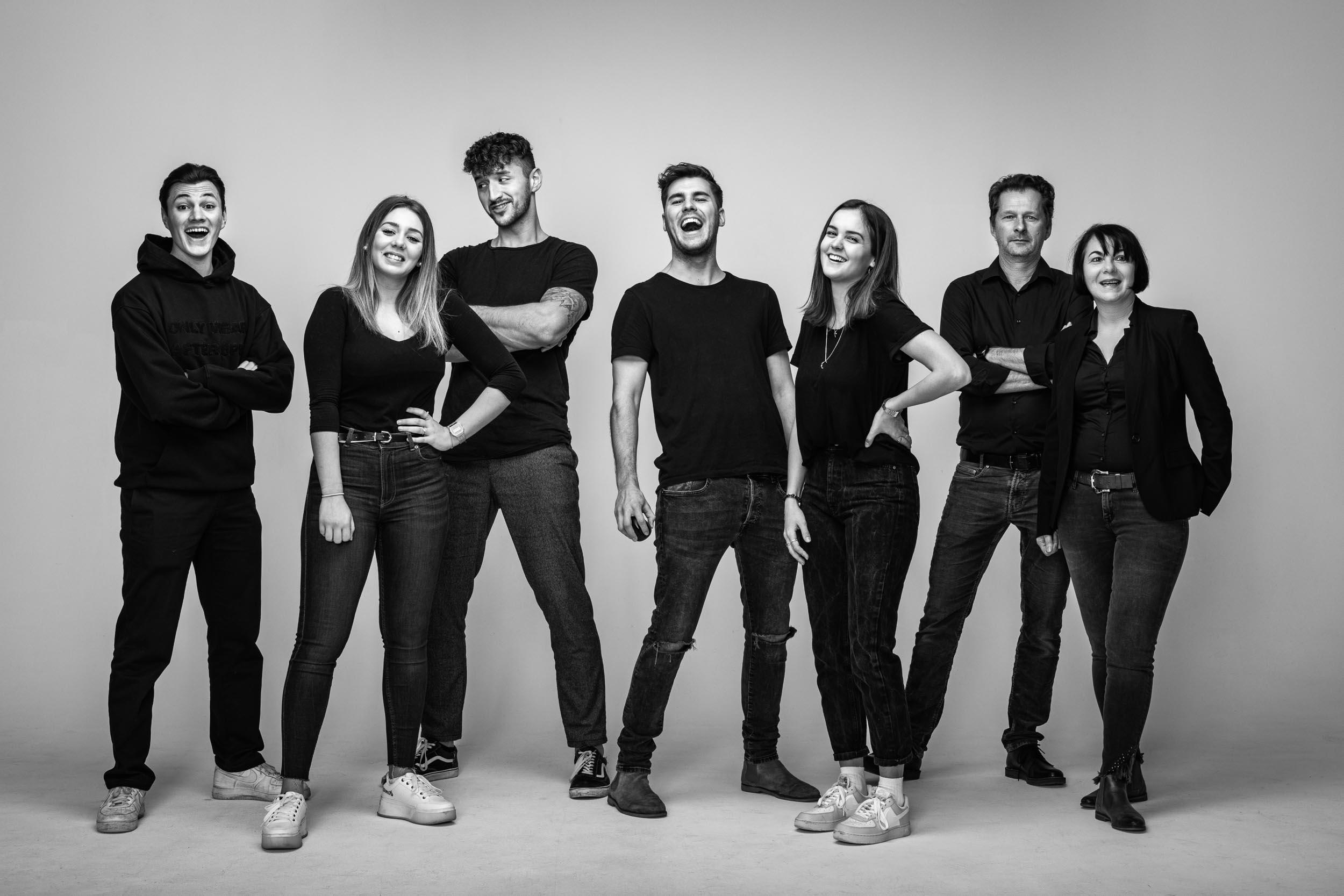 Das Team vom Fotostudio Fasching, Spezialisten im Bereich der Unternehmensfotografie und Unternehmensfilm, kreativ und motiviert, mit Top Referenzen und Awards weltweit.