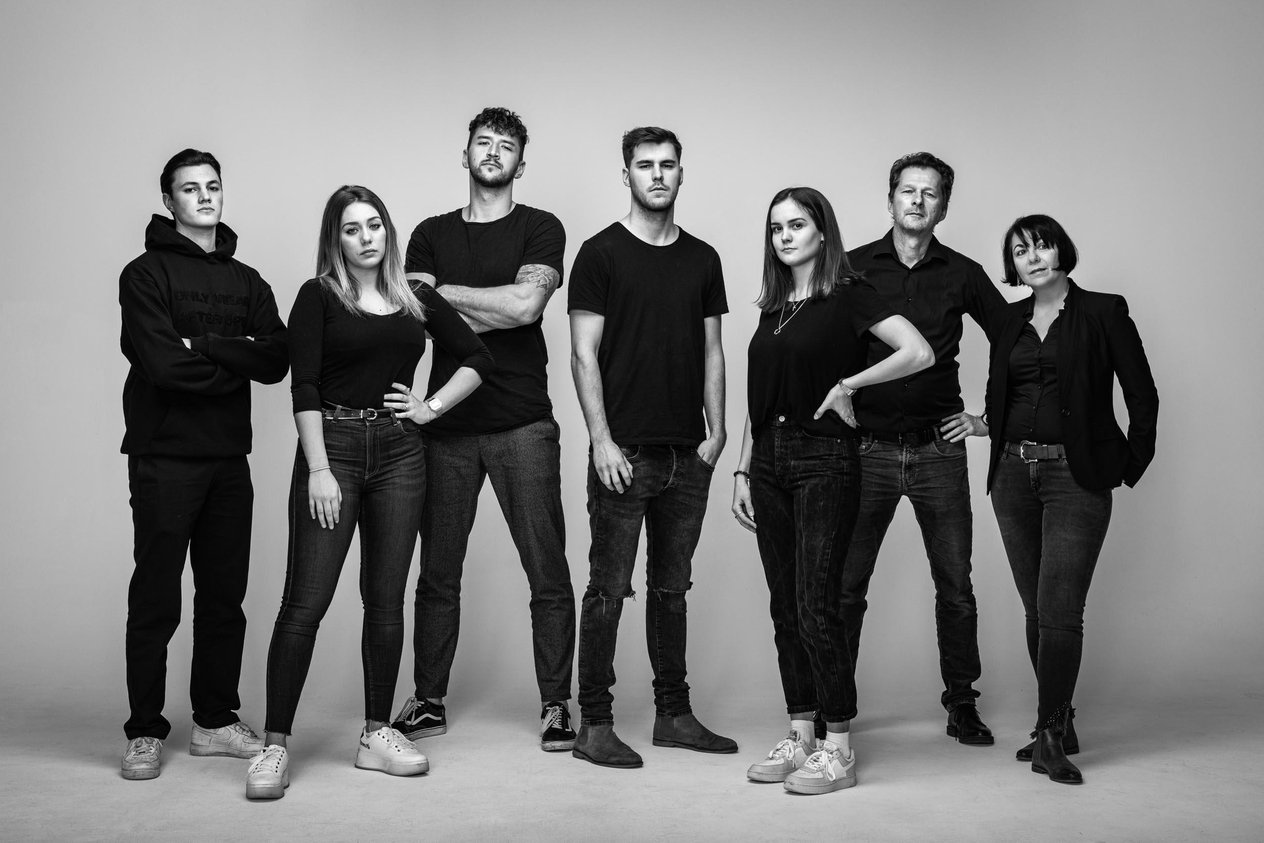 Das Spezialistenteam von Studio Fasching, Fotografie, FIlm und Bildstrategien für Unternehmen